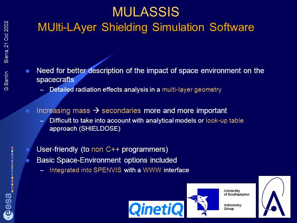MULASSIS MUlti-LAyer Shielding Simulation Software