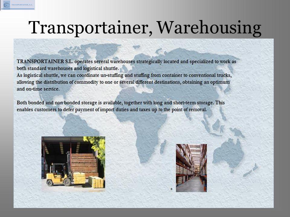Transportainer, Warehousing