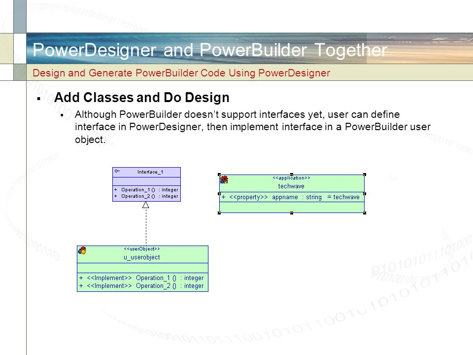 PowerDesigner and PowerBuilder Together