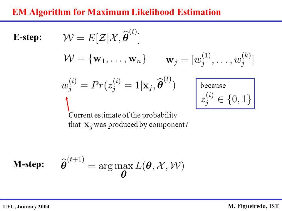 EM Algorithm for Maximum Likelihood Estimation