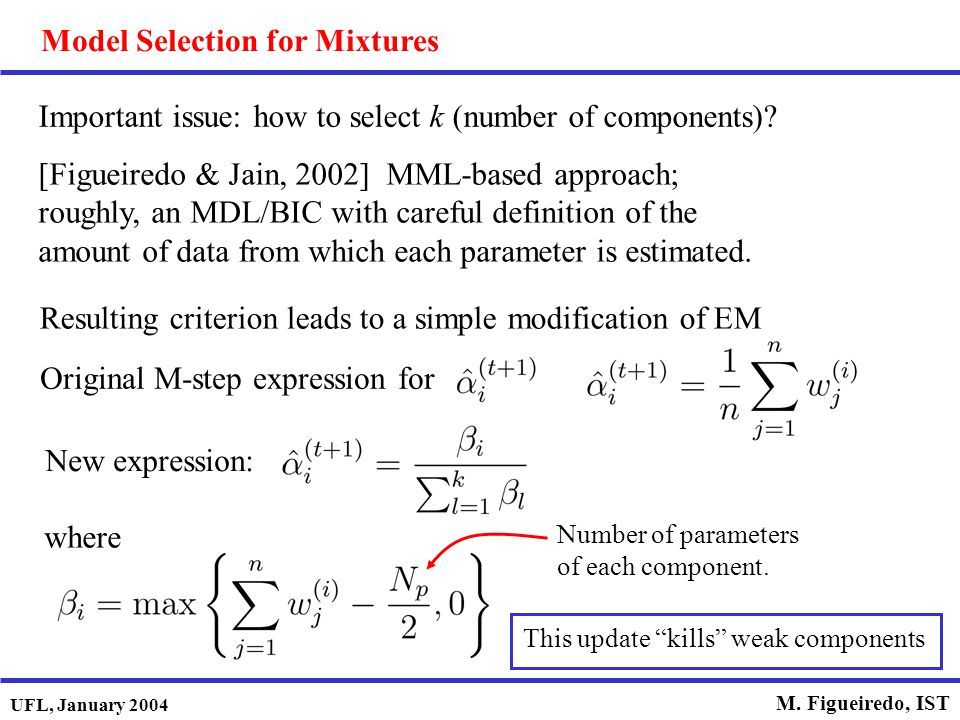 Model Selection for Mixtures