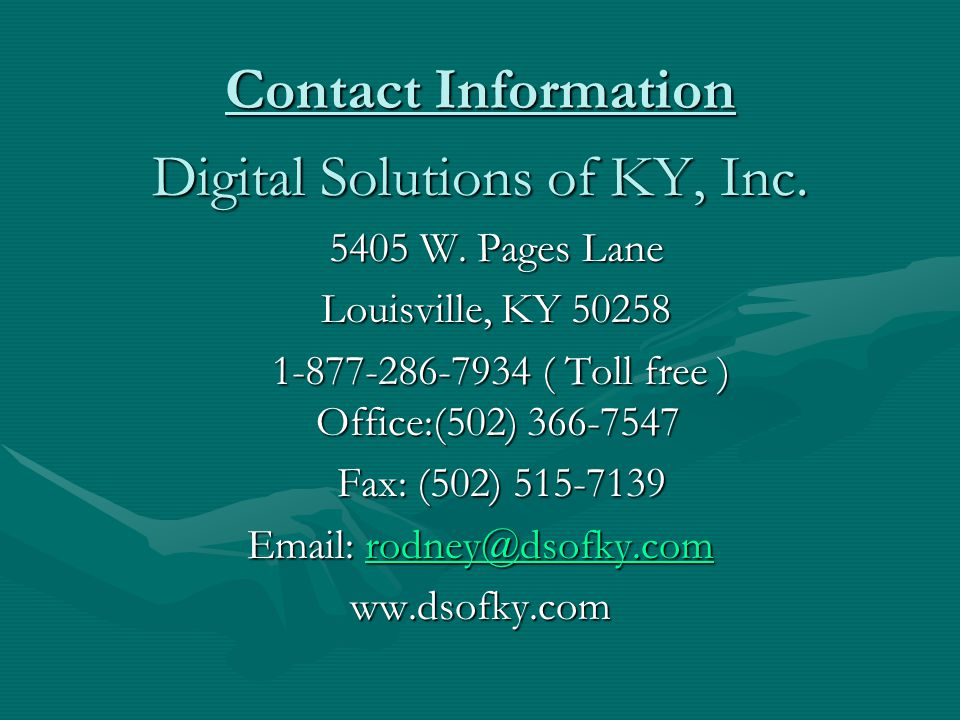 Digital Solutions of KY, Inc.