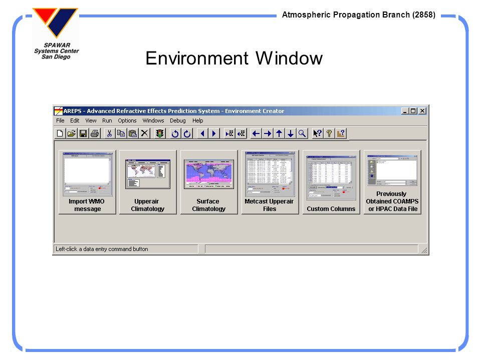 Environment Window