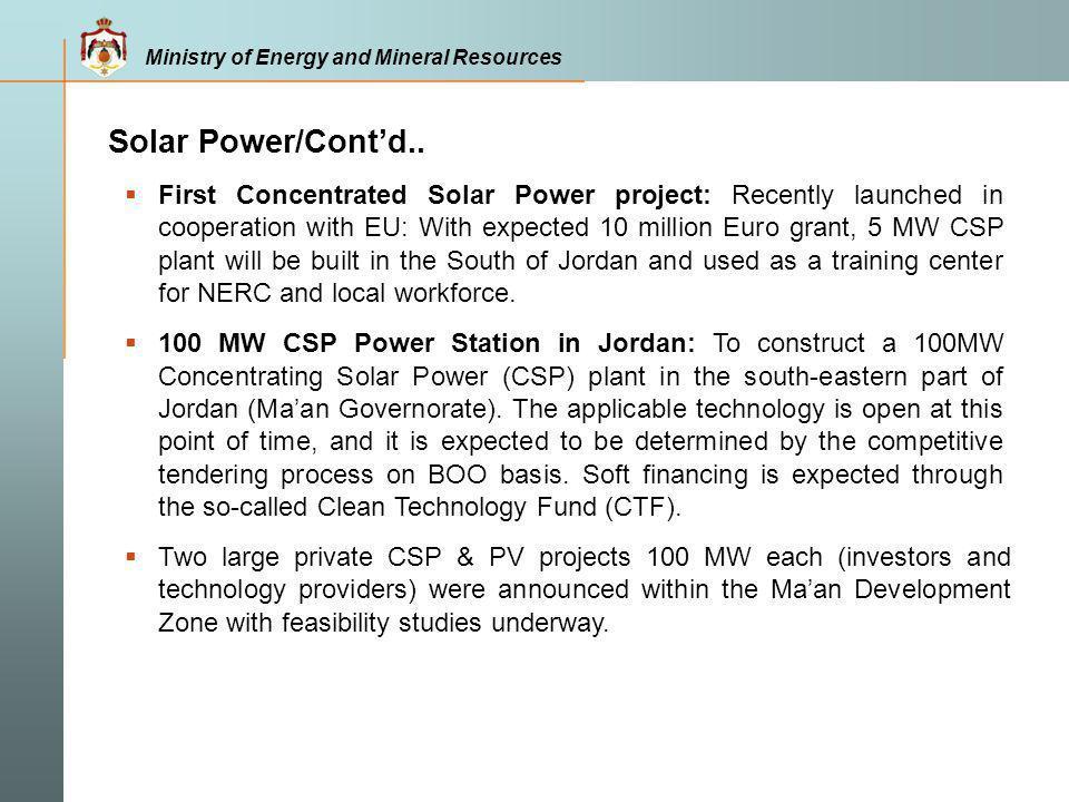 Solar Power/Cont'd..