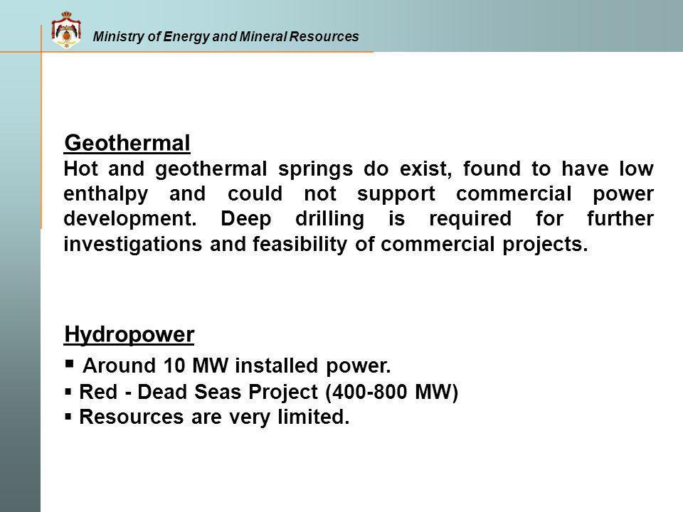 Around 10 MW installed power.