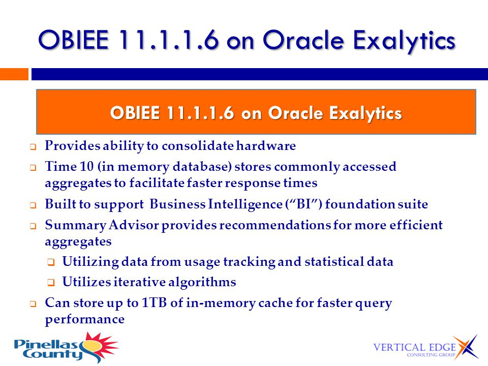 OBIEE 11.1.1.6 on Oracle Exalytics