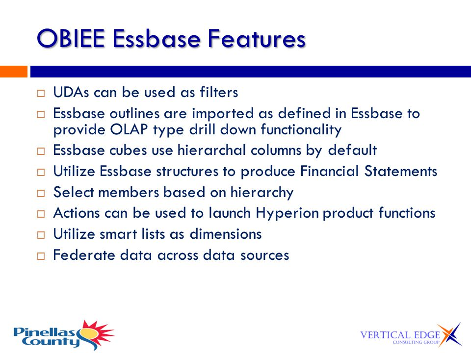 OBIEE Essbase Features
