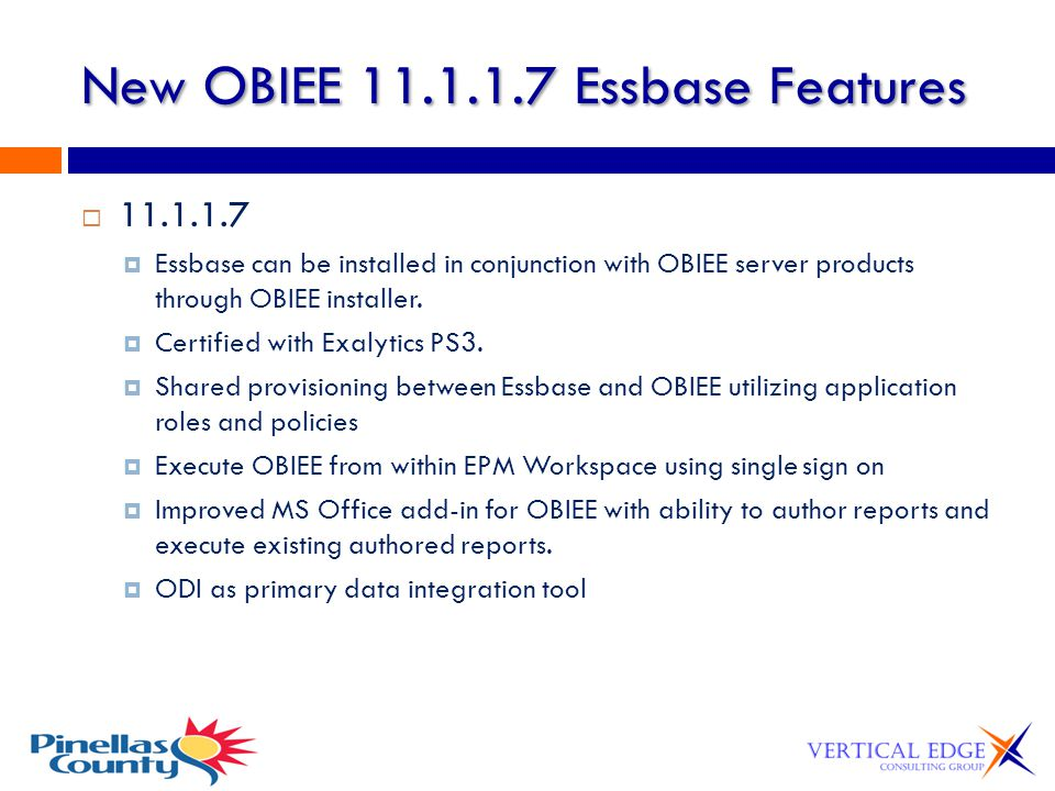 New OBIEE 11.1.1.7 Essbase Features
