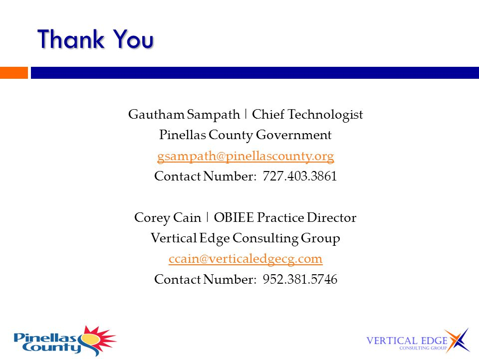 Thank You Gautham Sampath | Chief Technologist