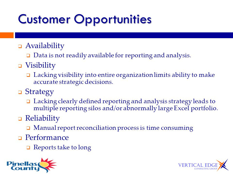 Customer Opportunities