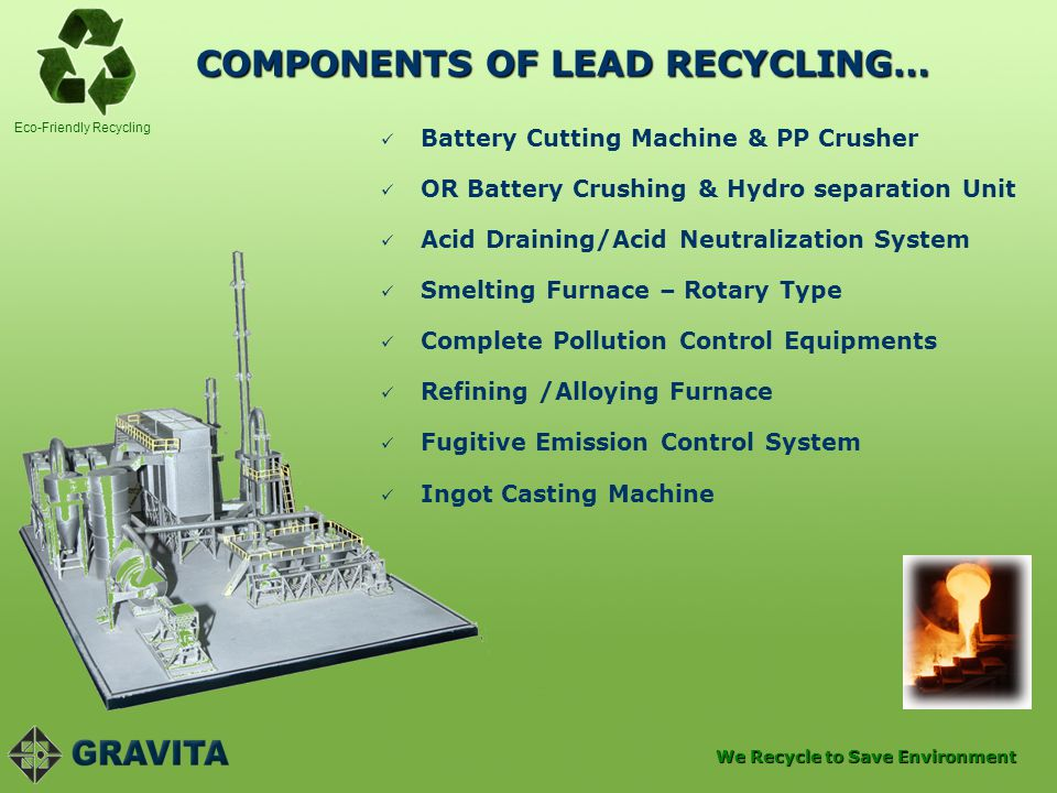 COMPONENTS OF LEAD RECYCLING…