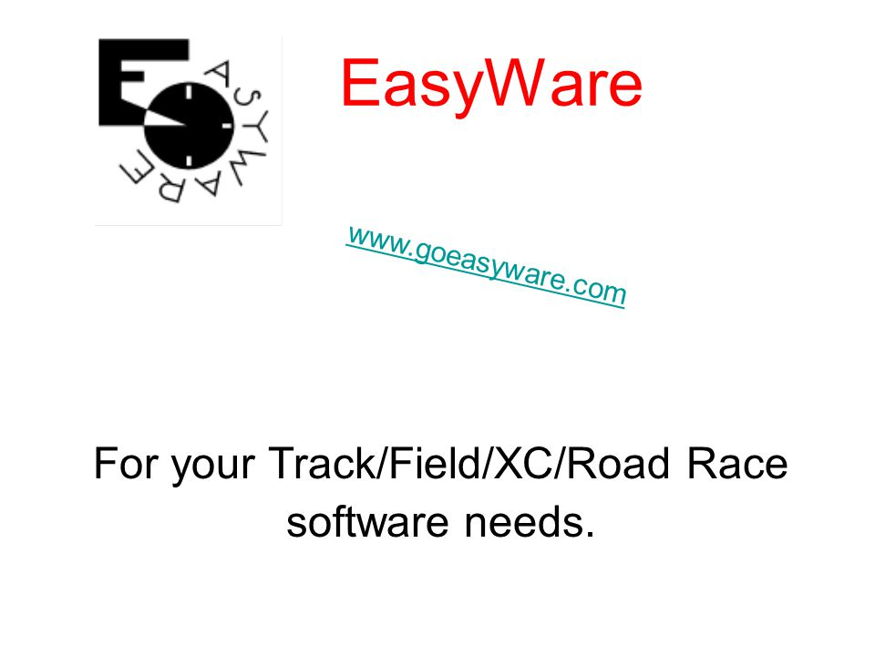 For your Track/Field/XC/Road Race