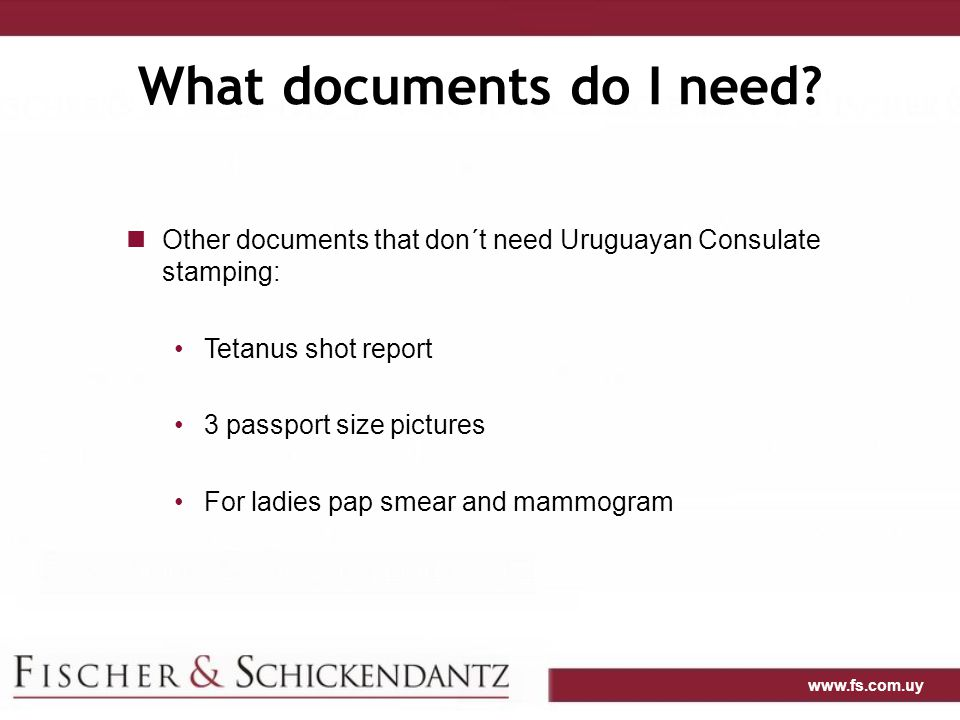 What documents do I need