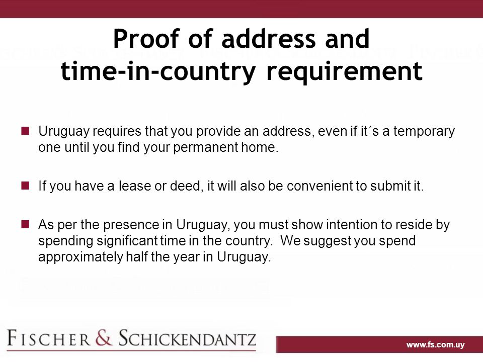 time-in-country requirement