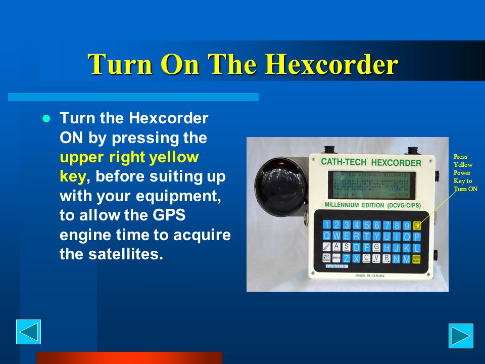 Turn On The Hexcorder