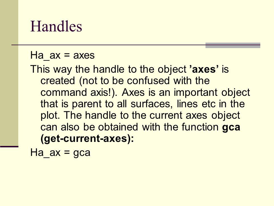 Handles Ha_ax = axes.