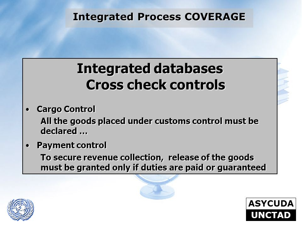 Integrated Process COVERAGE