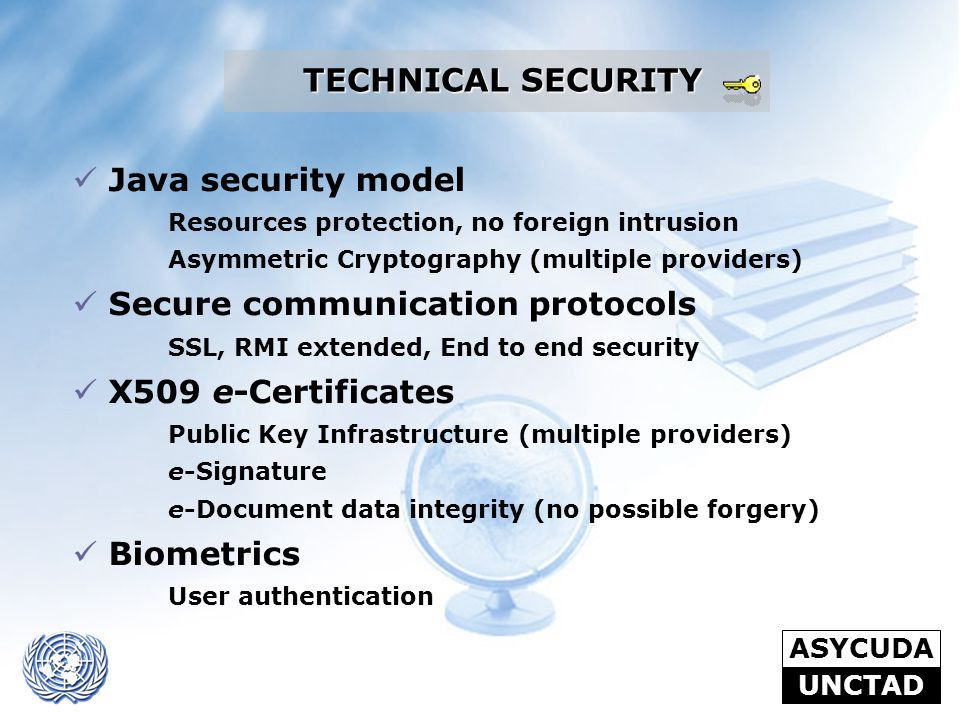 Secure communication protocols X509 e-Certificates