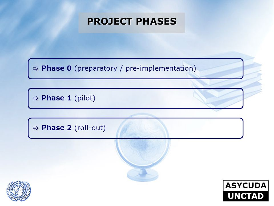 PROJECT PHASES Phase 0 (preparatory / pre-implementation)