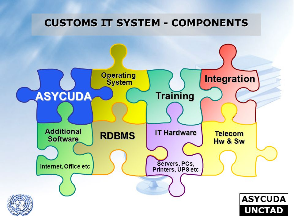 CUSTOMS IT SYSTEM - COMPONENTS