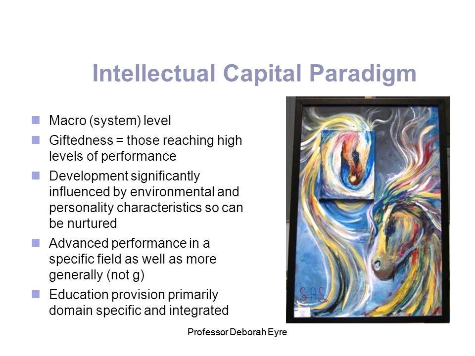 Intellectual Capital Paradigm
