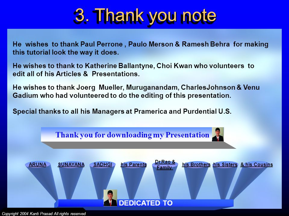 Thank you for downloading my Presentation