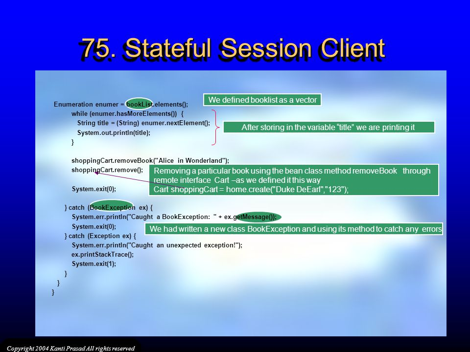 75. Stateful Session Client
