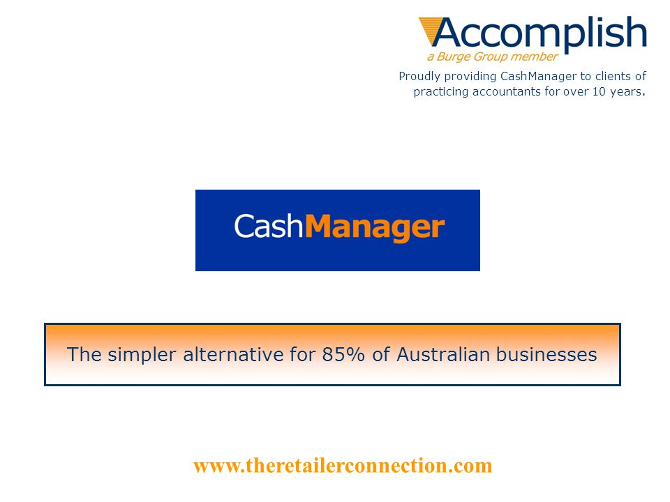 The simpler alternative for 85% of Australian businesses