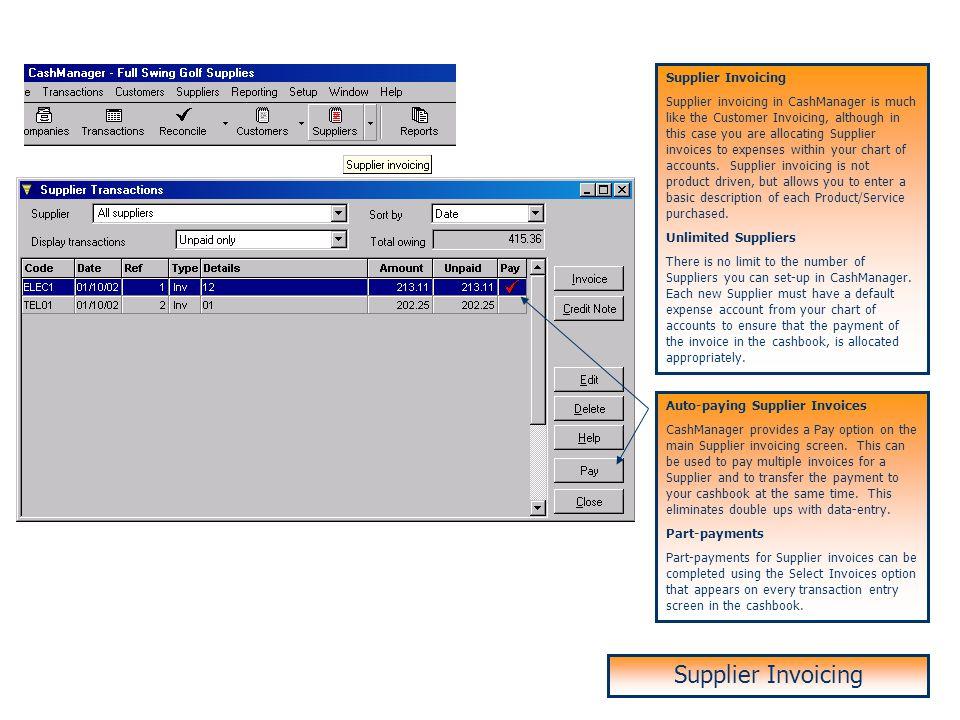Supplier Invoicing Supplier Invoicing Supplier Invoicing