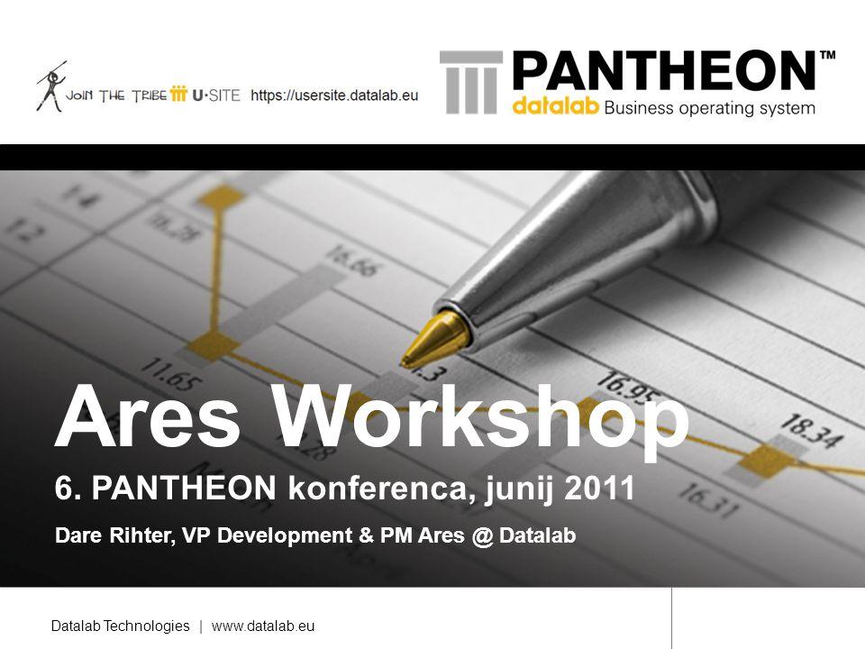 Ares Workshop 6. PANTHEON konferenca, junij 2011