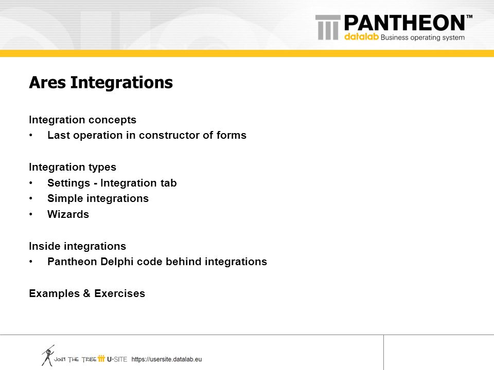 Ares Integrations Integration concepts