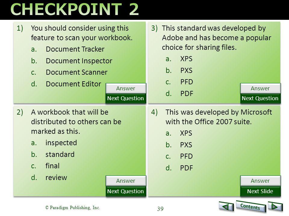 Benchmark Series Microsoft Excel 2013 Level 2