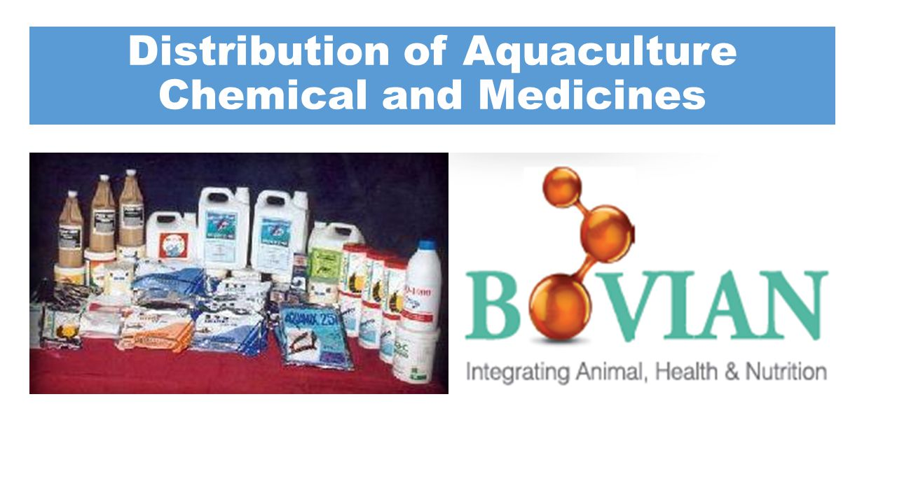 Distribution of Aquaculture Chemical and Medicines