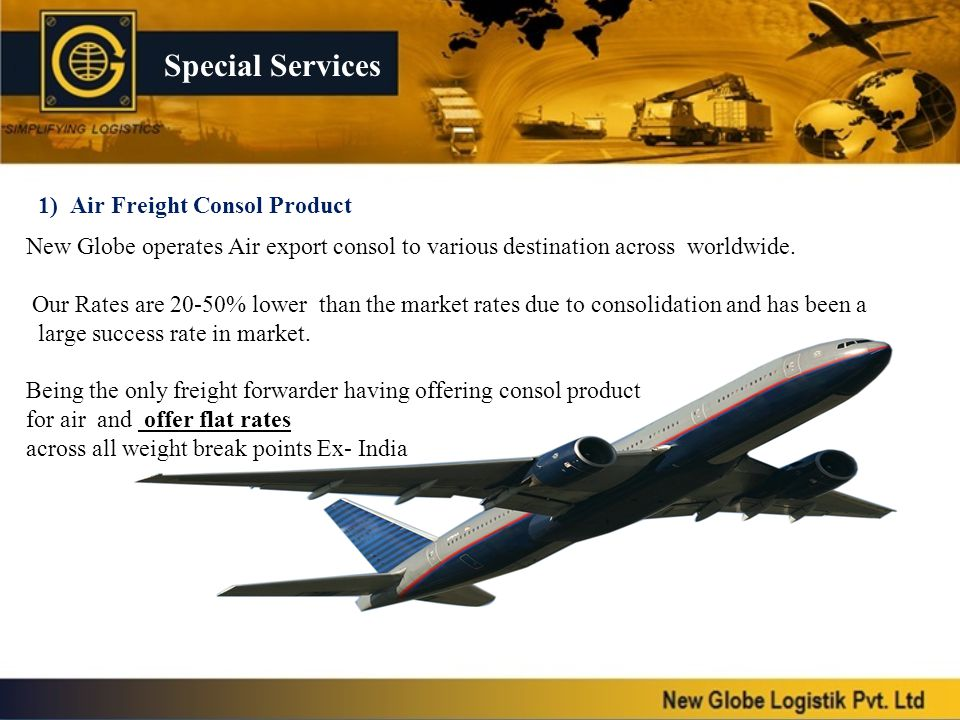 1) Air Freight Consol Product