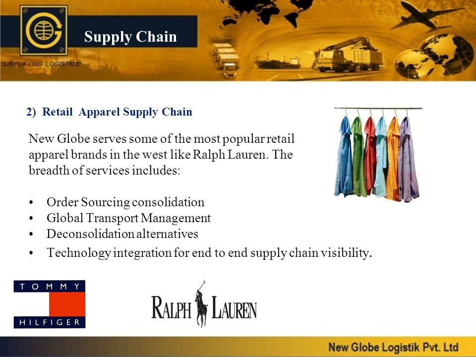 2) Retail Apparel Supply Chain