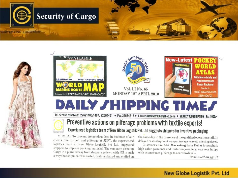 Security of Cargo