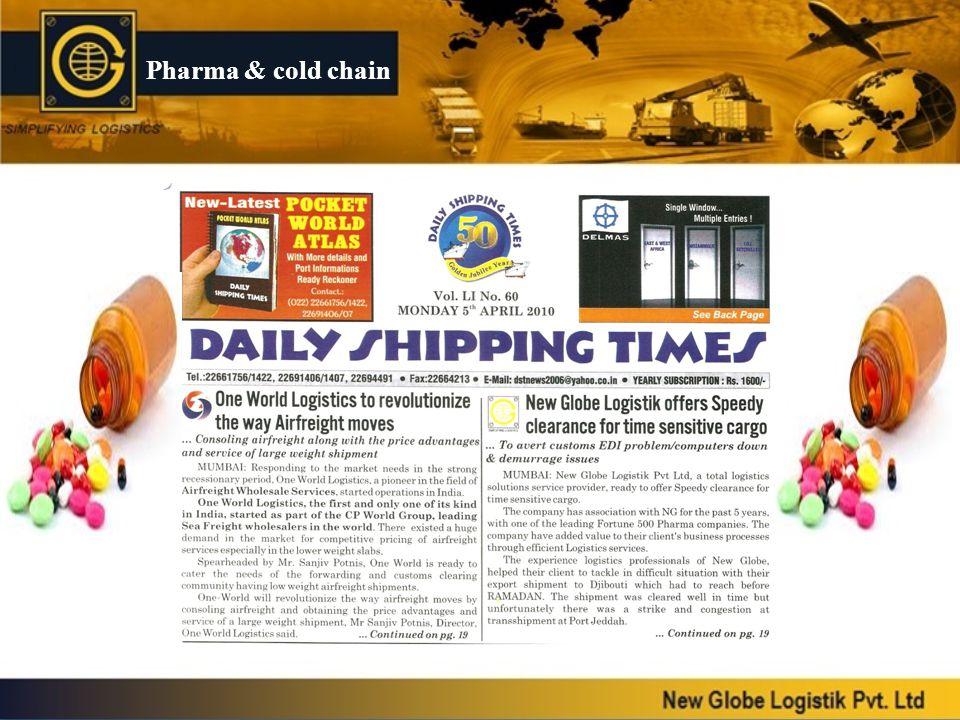 Pharma & cold chain
