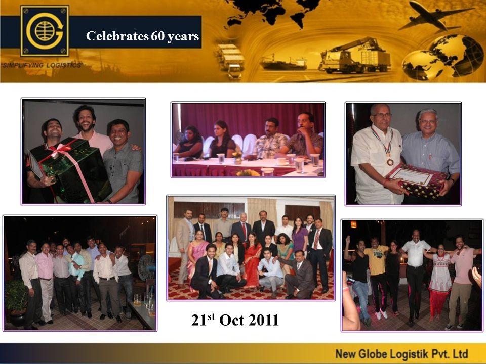 Celebrates 60 years 21st Oct 2011