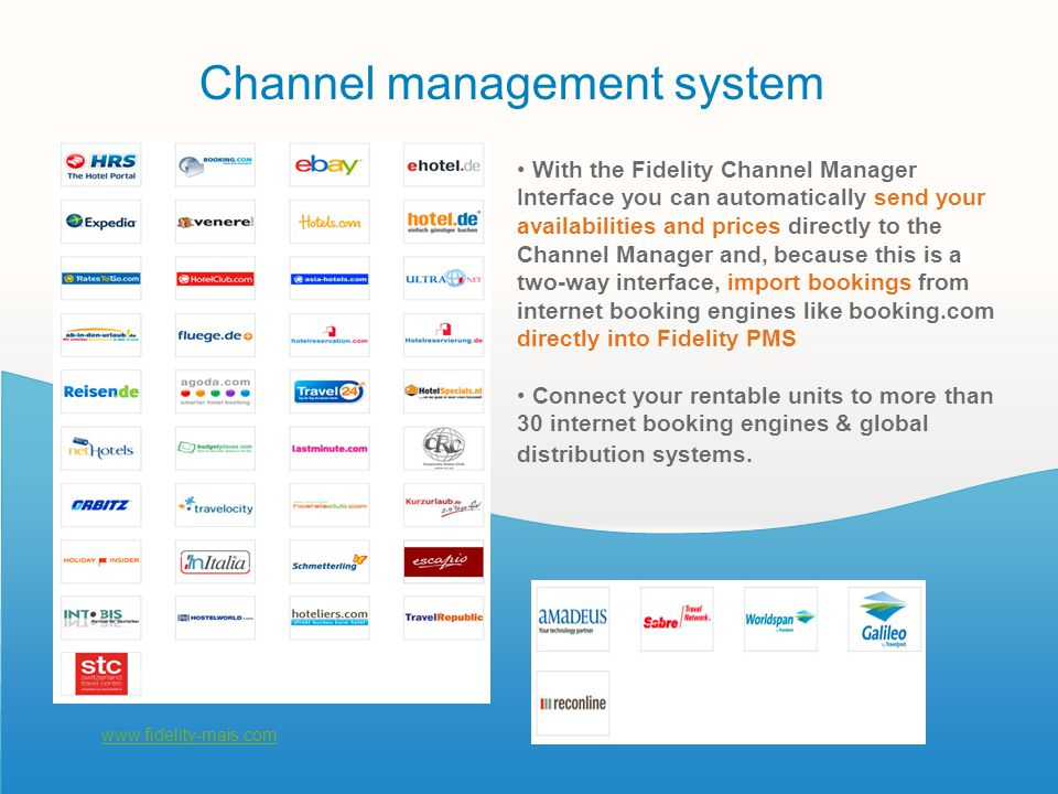 Channel management system