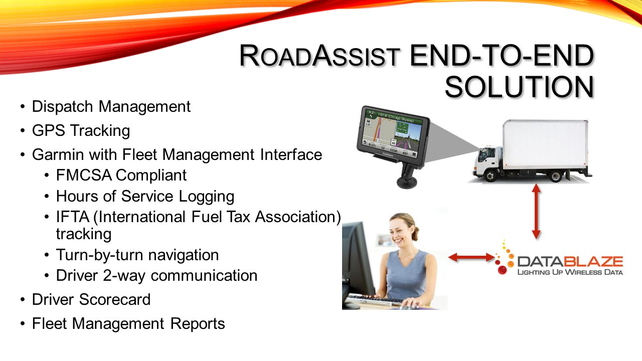 Roadassist End-to-end solution