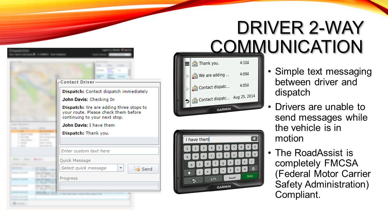 Driver 2-way communication