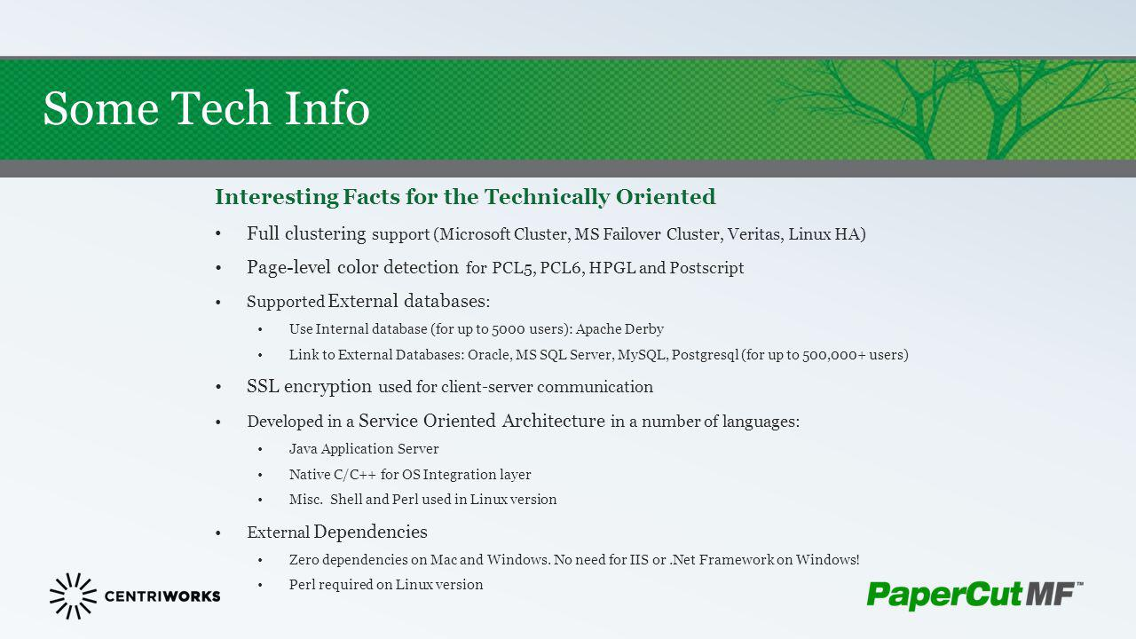 Some Tech Info Interesting Facts for the Technically Oriented
