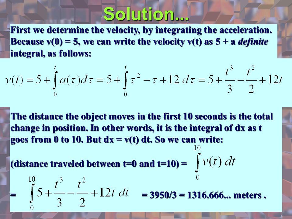 Solution...