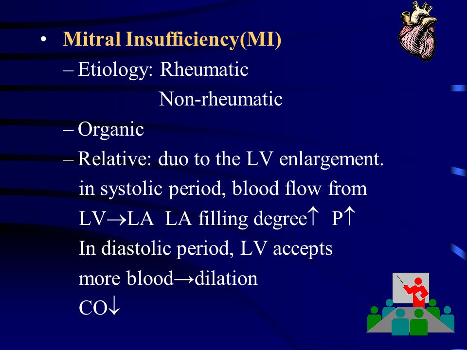 Mitral Insufficiency(MI)
