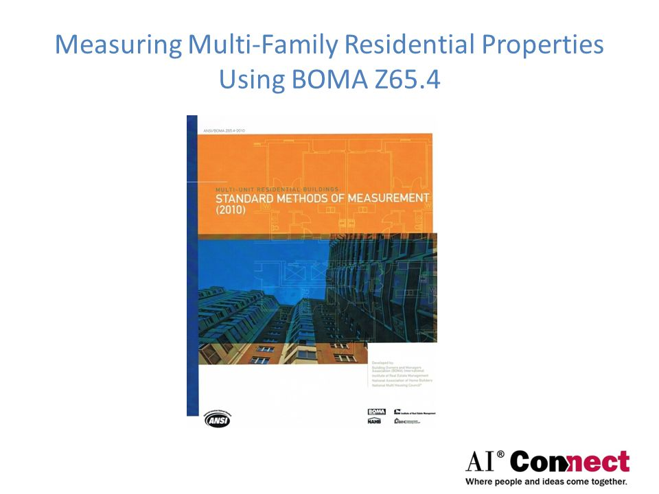 Measuring Multi-Family Residential Properties Using BOMA Z65.4