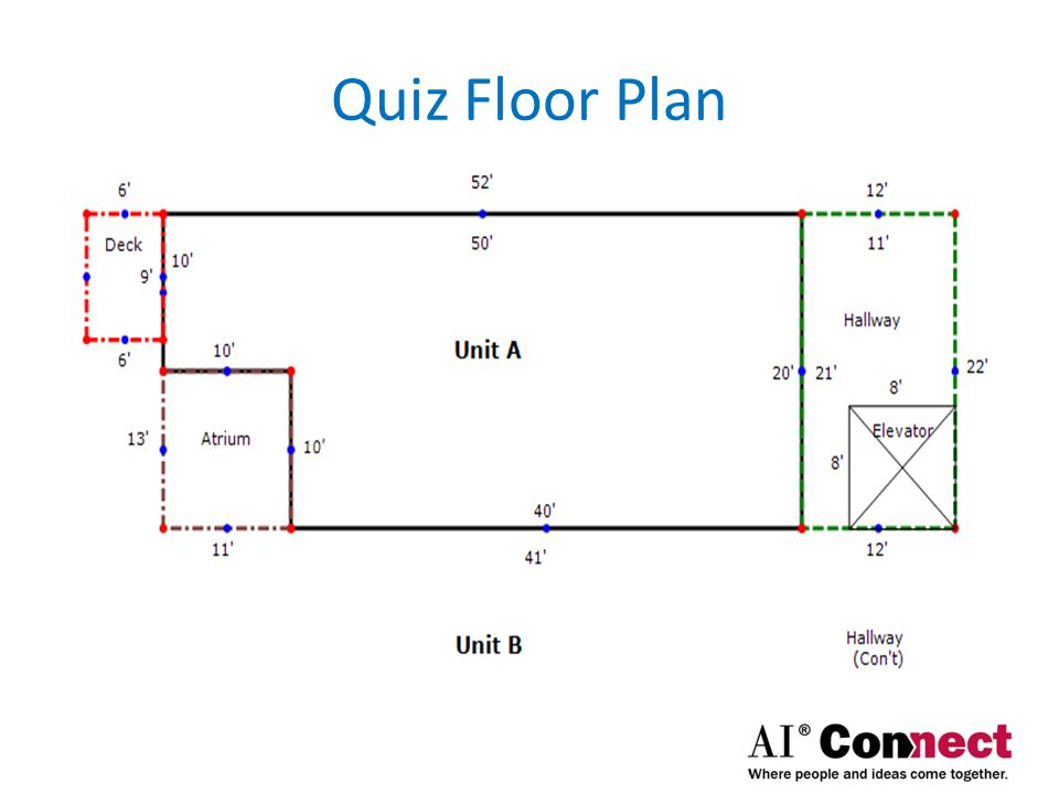 Quiz Floor Plan Quiz Floor Plan