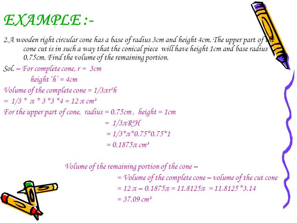 EXAMPLE :-