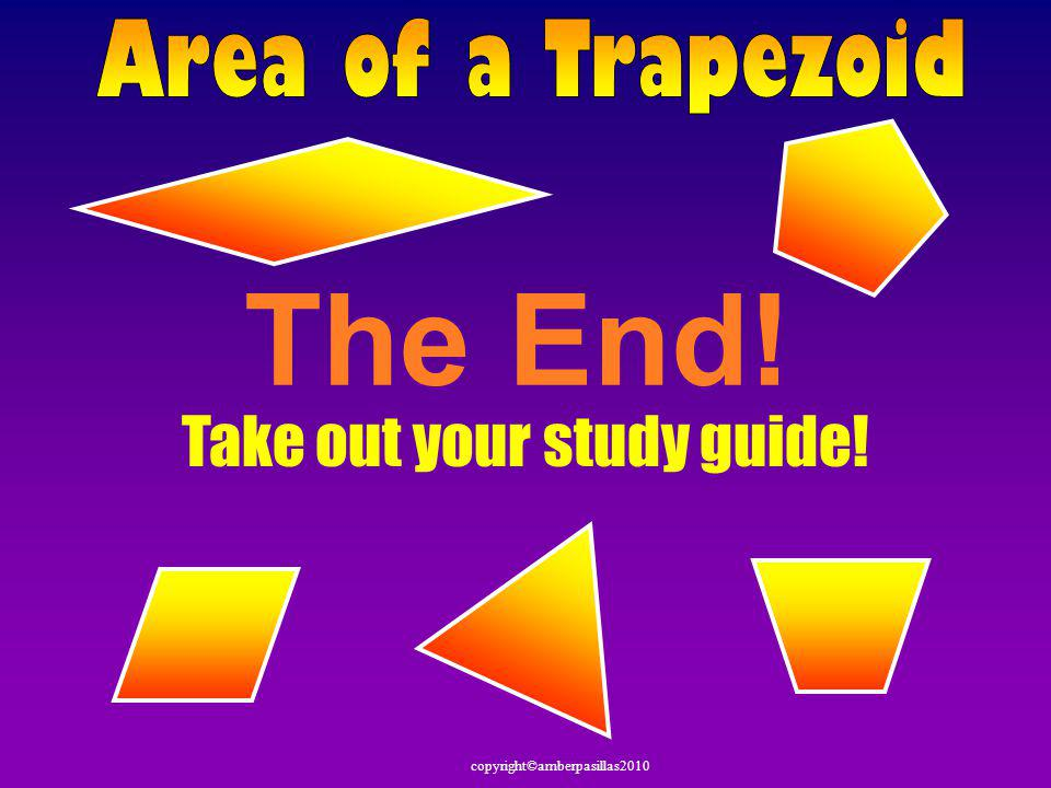 Take out your study guide!
