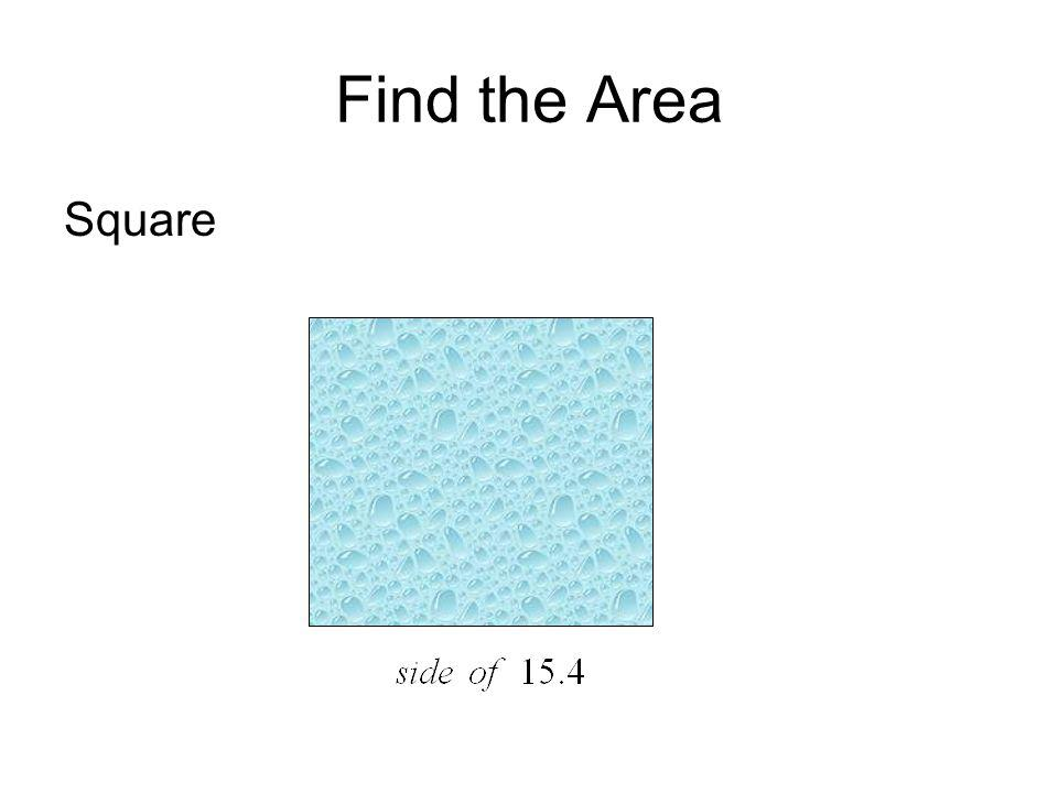 Find the Area Square