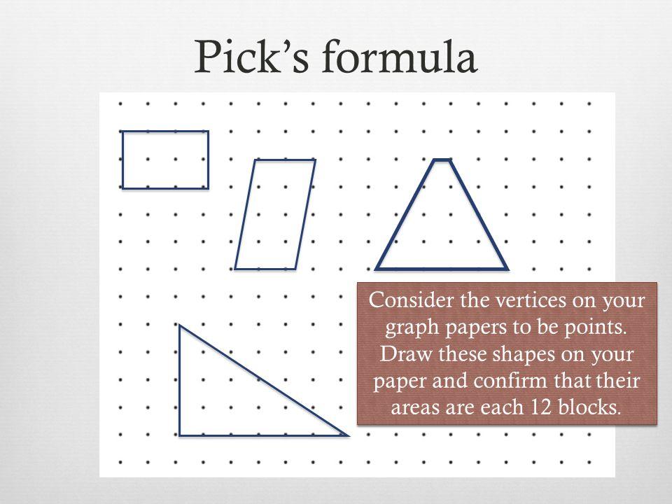 Pick's formula